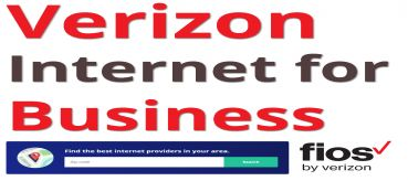 Find Verizon Internet for Business Near You!