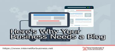 Here's Why Your Business Needs a Blog