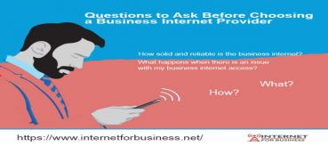 Questions to Ask Before Choosing a Business Internet Provider