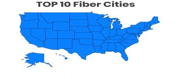 Need for speed for your business internet? Here are top 10 fiber cities in the United States.